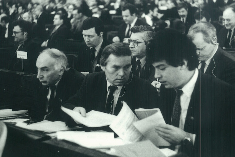 B.Y. Nemtsov as a Russian Parliamentarian. The Congresses of People's Deputies, the Supreme Soviet, the Federation Council, the State Duma. 1990–2003.