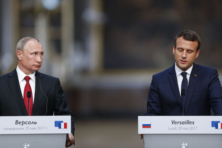 Macron's Russia Plan, the Boy and Shakespeare, and the U.S. Sanctions
